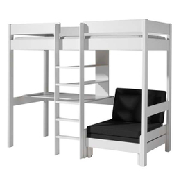 Wood High Sleeper Bed