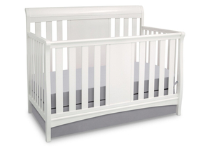 Classic Wooden Wood Baby Crib with Rail