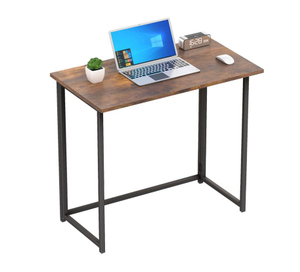 Folding Wood Computer Desk for Home Desk
