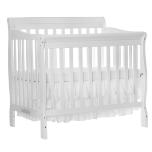 Multi Function Wood Baby Crib White And Cherry