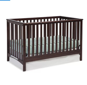 Convertible Solid Wood Baby Crib Classic Style