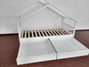 Kid White House Bed with Drawer
